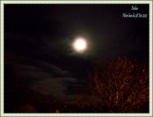 Ciel de nuit et Lune insolite