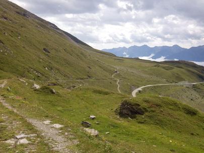 Tour du Lac du Mont-Cenis