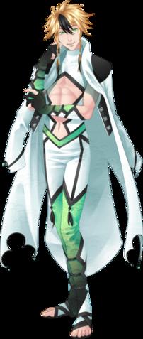 Leiftan, le sous-chef de la garde Étincelante.