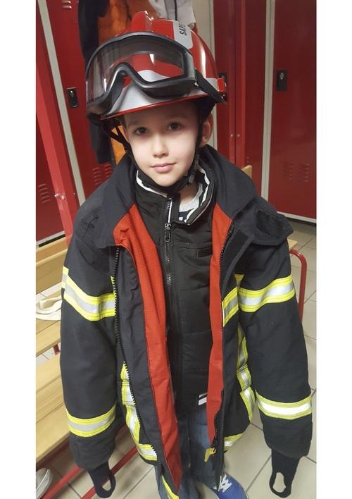 Sortie à la caserne des pompiers !
