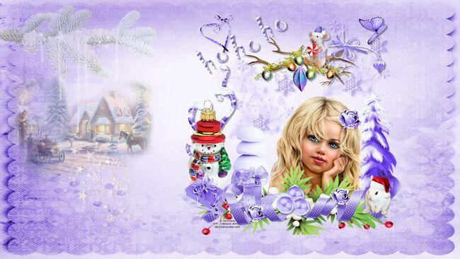 Super Tag de Noël + Cluster + Fond