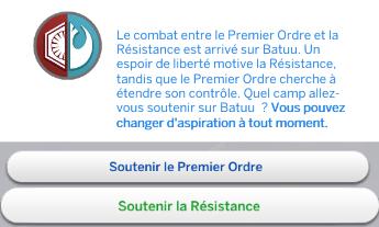 [Voyage sur Batuu] Le choix de la Résistance