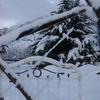 Lit sous la neige