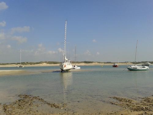 Hier sous un beau soleil à Portbail