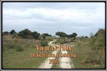 Via de la Plata Valdesalor → Cañaveral