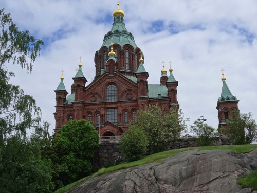 Helsinki en Finlande: la Cathédrale orthodoxe (photos)