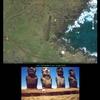 Rapanui- l'esplanade des Moai