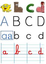 lettres et alphabet