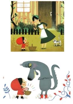 Images séquentielles : le petit chaperon rouge
