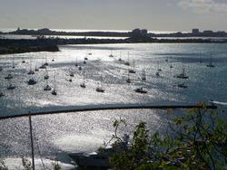 St. MARTIN - Marigot et le Lagon
