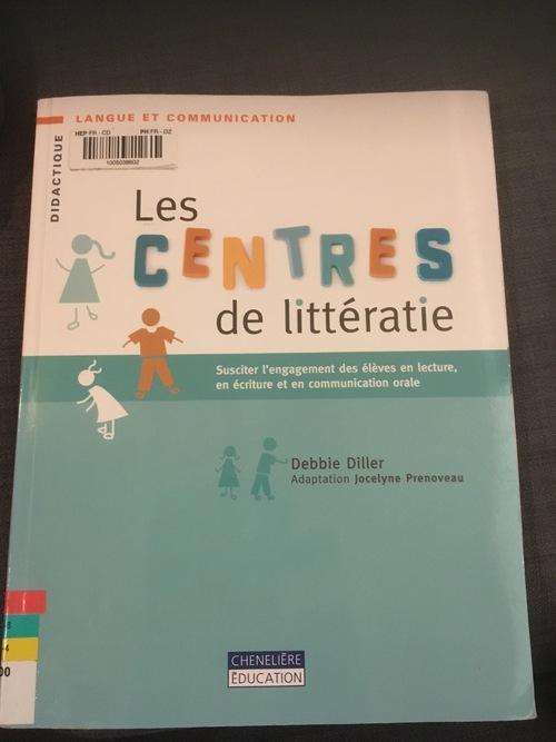 """""""Les centres de littératie"""", D.Diller"""