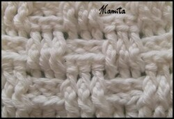Freeforme crochet :fragment de juin
