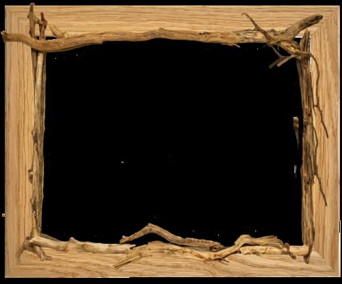 cadre bois et bois flotté