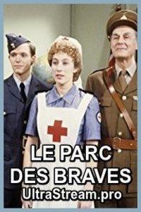 Le parc des braves : Marie Rousseau devient veuve un peu avant le début de la deuxième guerre mondiale. Elle tente tant bien que mal de continuer à élever ses enfants, Colette, Michel et Émile. Dans sa tâche elle est supportée par Tancrède, son beau-frère (le frère de son époux décédé) secrètement amoureux d'elle et par Flore, une adorable bonne à tout faire. Pierre-Paul, le frère de Marie est toutefois là pour mettre encore plus de piquant dans la vie de la veuve Rousseau. ... ----- ...  Langue du Film: VFQ Diffusion d'origine: 1984-1988 Nationalité: Canada Québec Genre: drame historique Cast: Réalisation : Rolland Guay, Hélène Roberge, André Tousignant, René Verne et Michel Greco, Comédiens : Marie Tifo, Gérard Poirier, Vincent Graton, Ghyslain Tremblay, Catherine Bégin, Denis Bernard