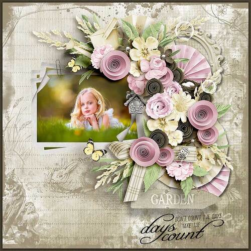 Hideen My Garden by dentelle scrap