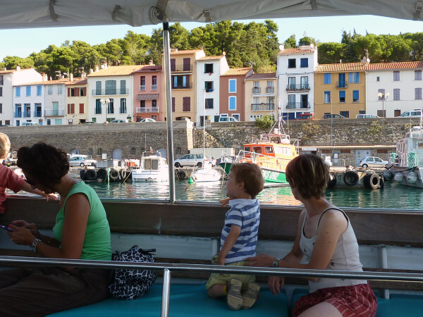 Banyuls - Promenade en mer - Port-Vendres