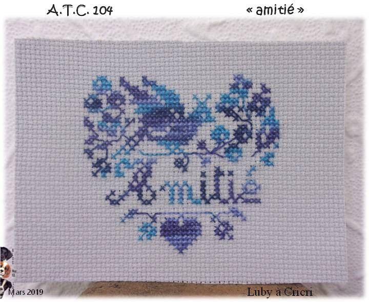 """ATC """"Amitié"""""""