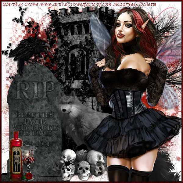 Gothic fairy magic