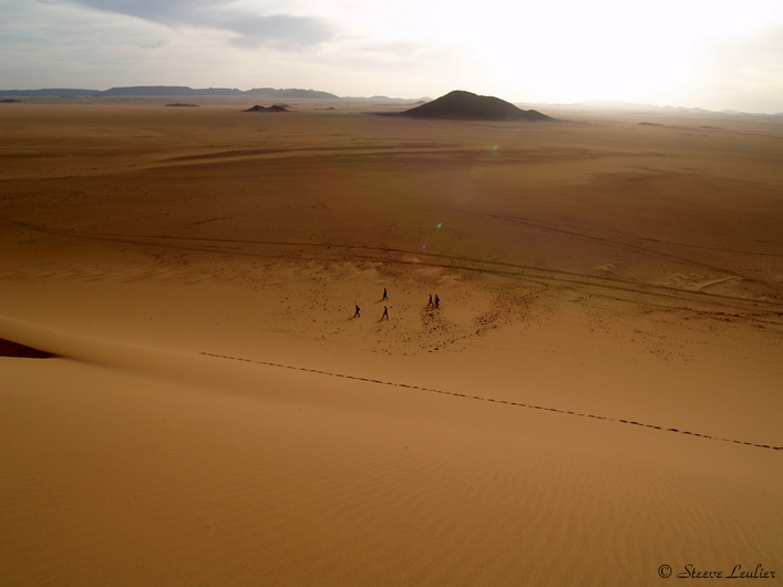 Les dunes du Tassili du Hoggar