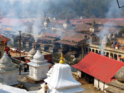 lles petits temples de Pashupatinath