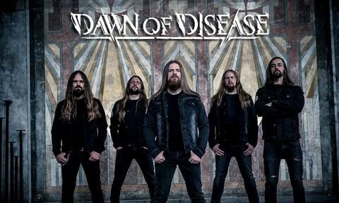 """DAWN OF DISEASE - Les détails du nouvel album Procession Of Ghosts ; """"Procession Of Ghosts"""" Clip"""