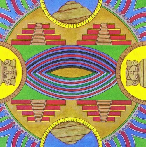 Les mandalas précolombiens et l'Amérique latine et le Mage Achikilla