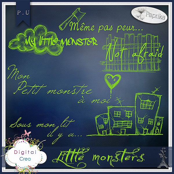 """Little Monsters"" by Paprika"