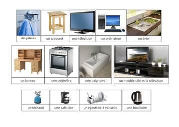 vocabulaire : la maison, la cuisine