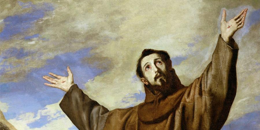 Crédit d'image: Saint François d'Assise (détail), Jusepe de Ribera, 1642, El Escorial.