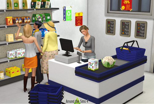 CCs Sims 4 | Shopping time !