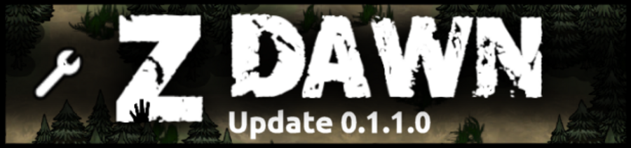 UPGRADE : Z Dawn en 0.1.1.0
