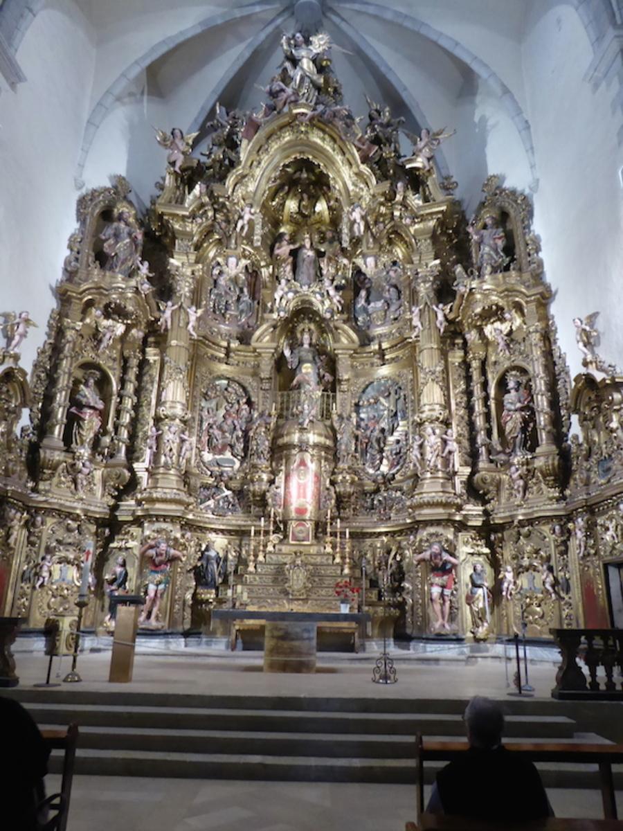 L'église de Cadaqués Sainte Marie XVIè XVIIè siècle.