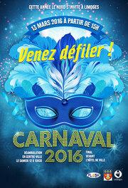 Le Carnaval défilait ce dimanche 13 Mars à Limoges sous un soleil mitigé