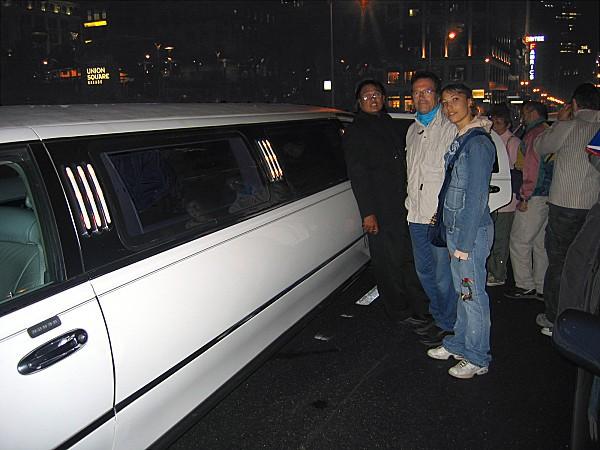 San Francisco limousine eux