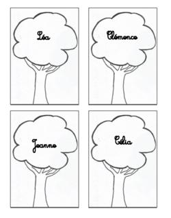 Les arbres-prénoms
