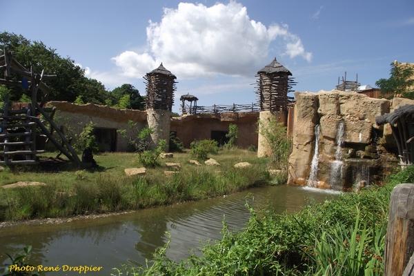 Au zoo d'Amnéville avec René Drappier