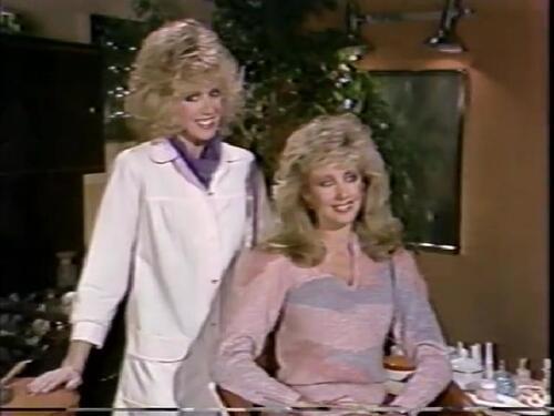 1985:Donna Mills dans l'émission de Bob Hope