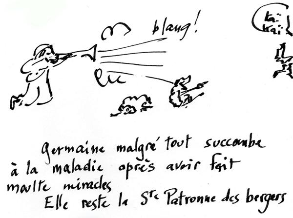 15.06 Ste Germaine de Pibrac