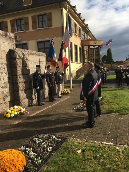 * Commémoration du 11 novembre à Obenheim