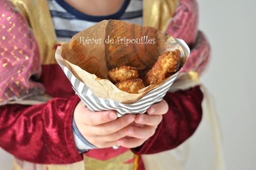 Nuggets de poulet homemade
