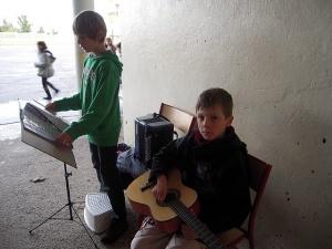 Chant choral et marché de Noël