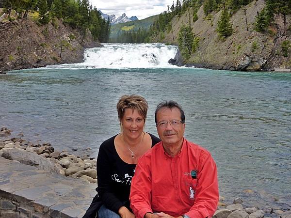 Jour 16 Banff rivière Bow chutes