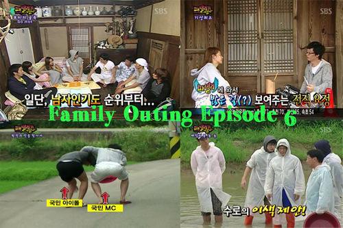 Sortie de Family Outing Episode 6 !