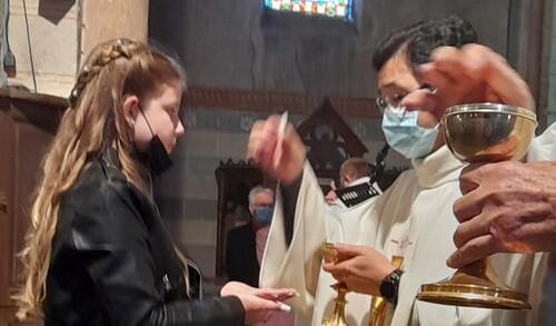 Messe avec les familles du 9 Mai