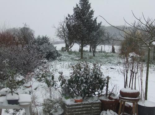 """qui a dit, il y a quelque jours """"pas de neige ici""""!!! c'est moi..."""