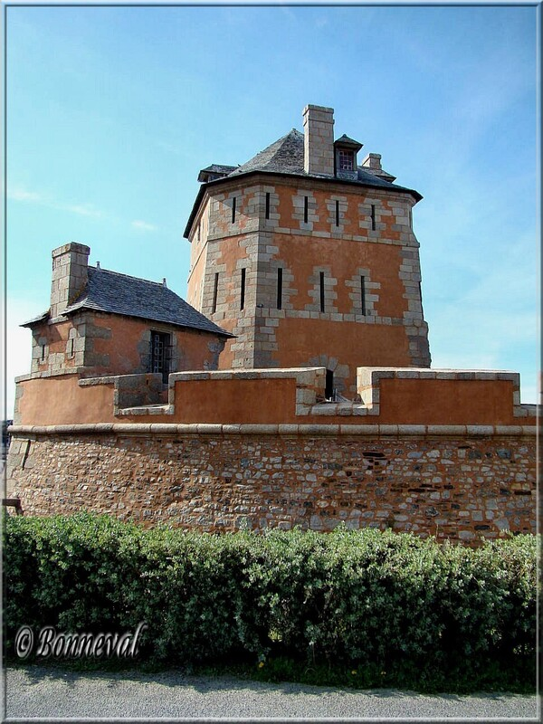 La Tour Vauban et la batterie basse Camaret-sur-Mer