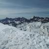 Du sommet de las Arroyeras, le massif de la Telera