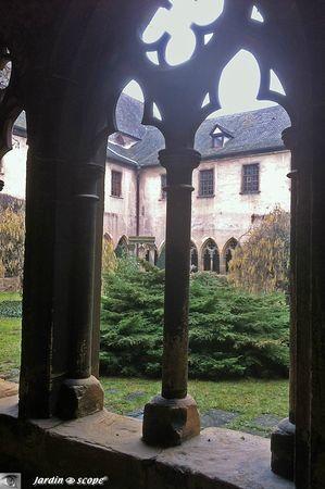 Unterlinden -cloître du XIIIᵉ siècle