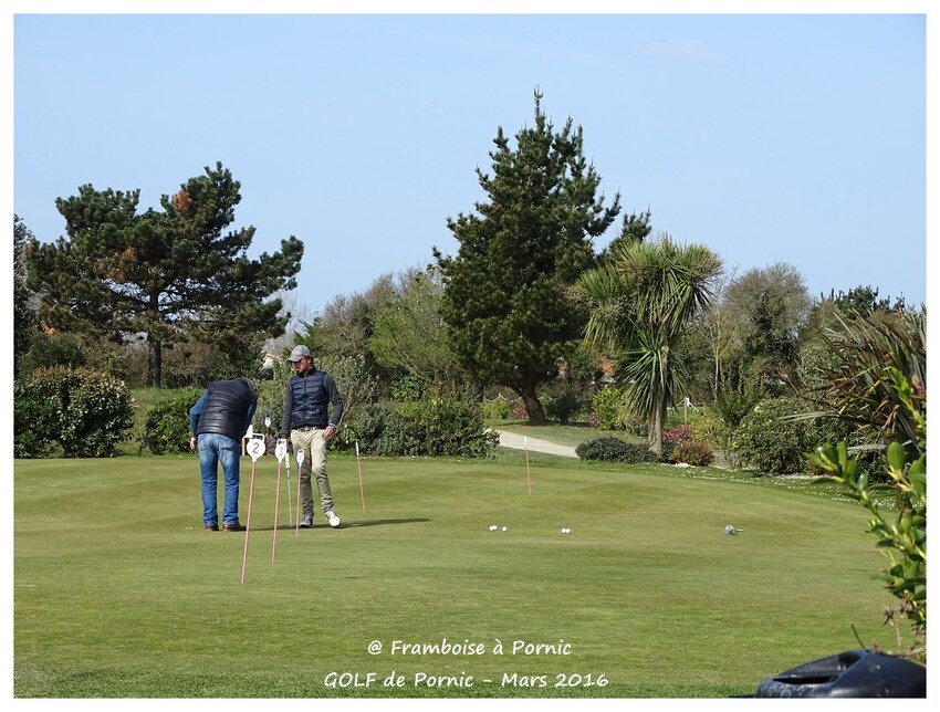Golf de Pornic - Printemps 2016