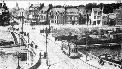 L'entrée nord du Calais-Nord d'avant guerre